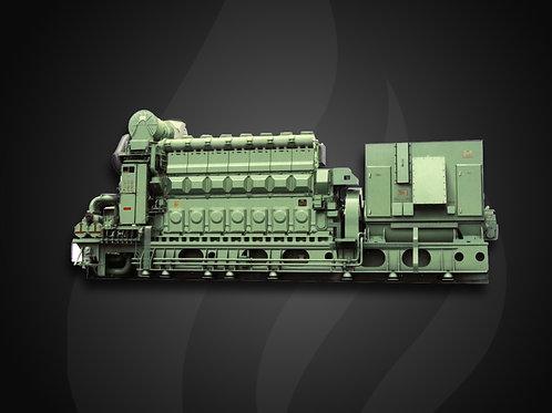 Modelo 3240 - Gerador Industrial Jichai Diesel (2895~8730KW)