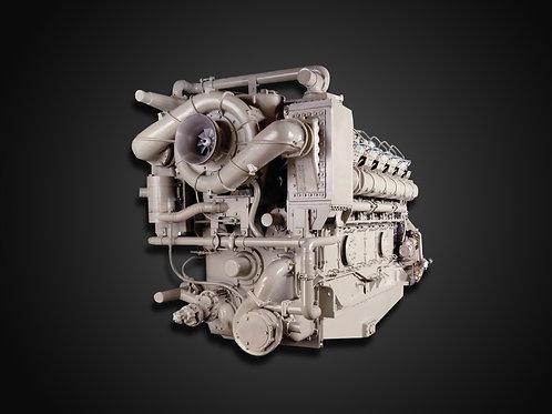 Modelo 16V250SDA - Motor Industrial GE Diesel (4038 kW)
