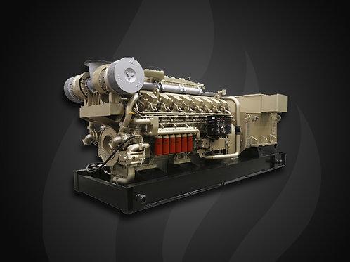 Modelo 6000 - Gerador Industrial Jichai Diesel (1350~2000KW)