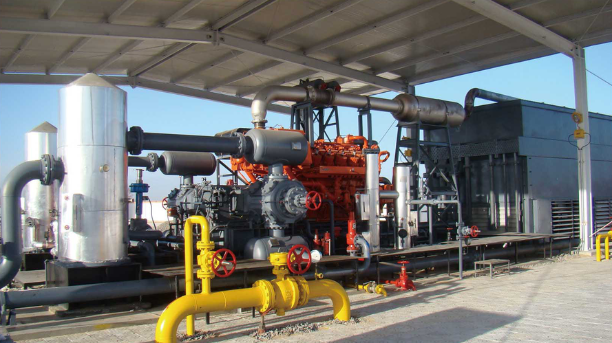 Compressor a gás natural com tipo de pistão alternativo
