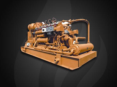 Modelo 408 - Gerador Industrial Jichai Gás (500KW)