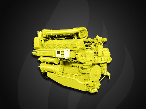 Modelo Locomotive - Motor Industrial Jichai Diesel (588~1200KW)