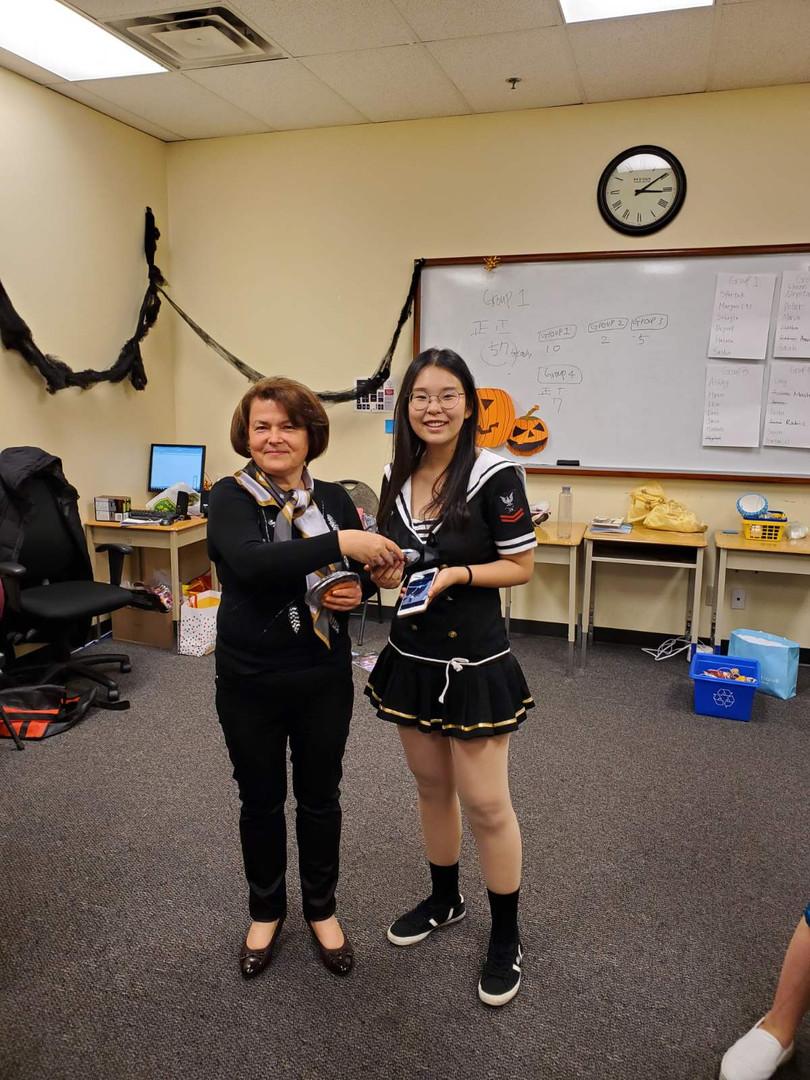 Halloween Costume Prizes