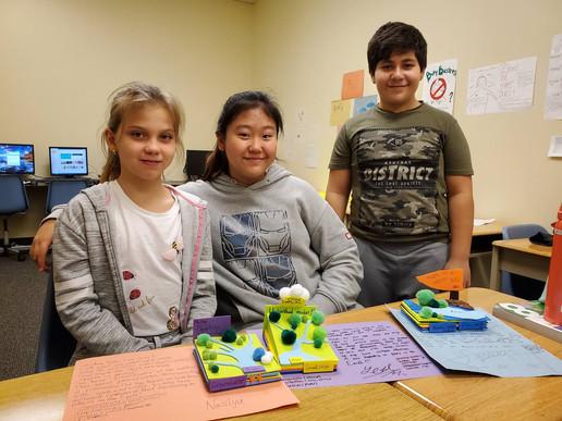 Queen's Collegiate Elementary School Students
