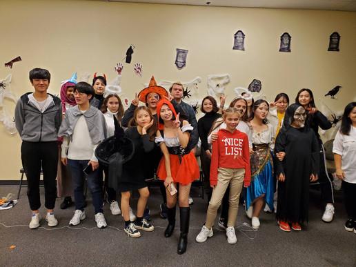 Queen's Collegiate Students on Halloween