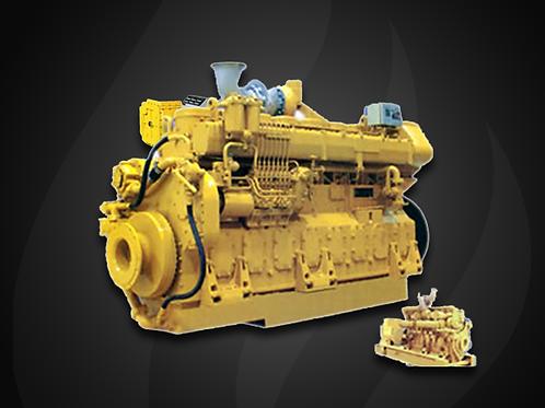 Modelo 8-Cilindros - Motor Marítimo Jichai Diesel (500~720 KW)