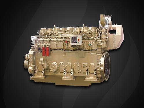 Modelo L8190 - Motor Marítimo Jichai Diesel (748~1129 KW)