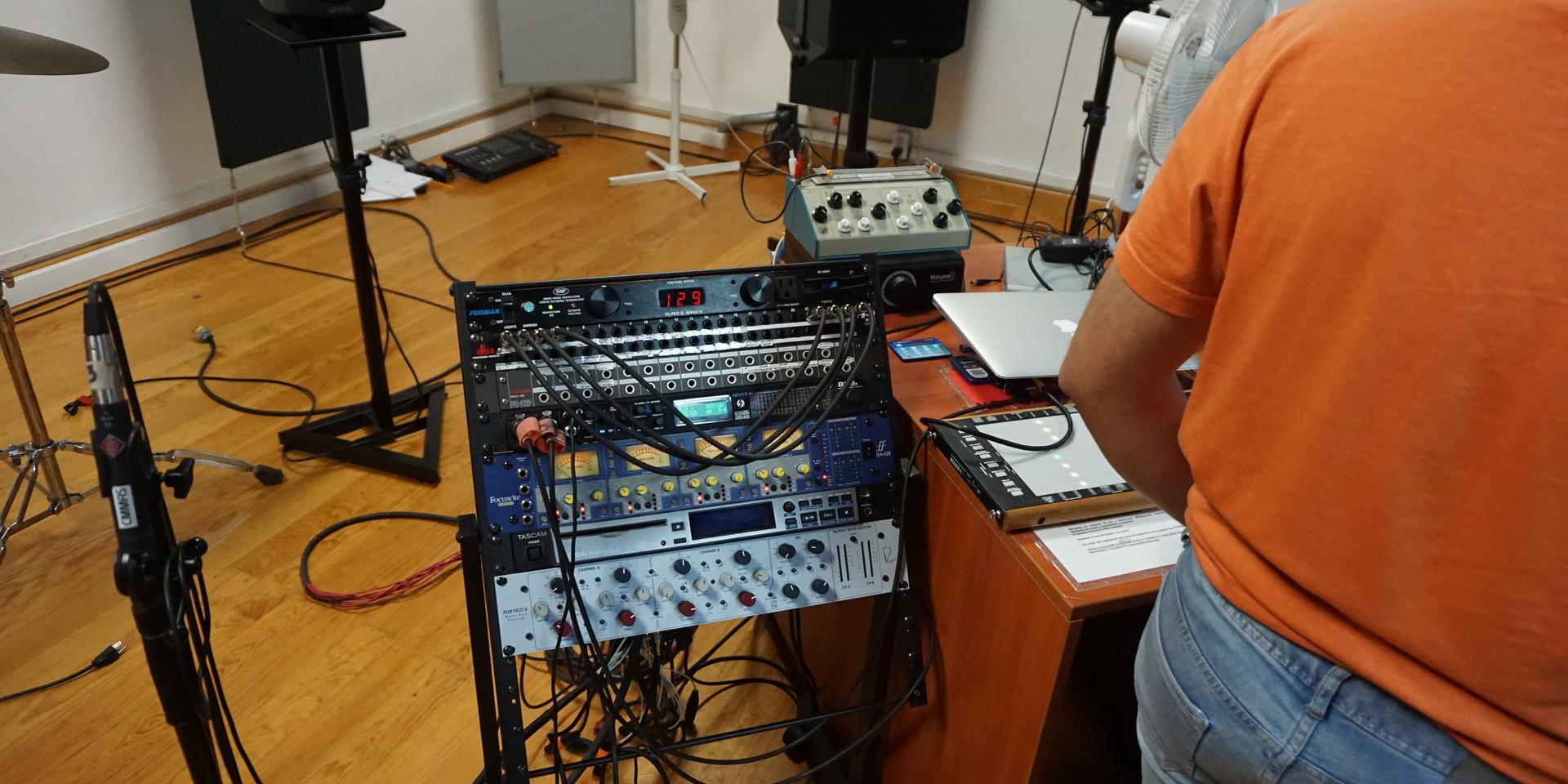Recording at CMMAS