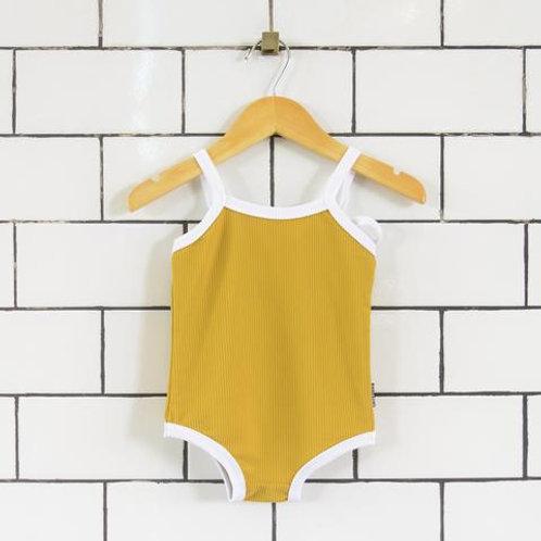 Onepiece Swimmer(Mustard)