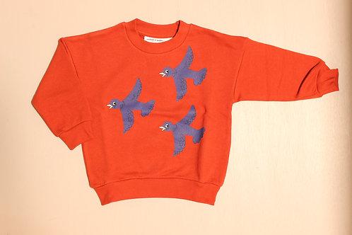 FLYING BIRDS RED