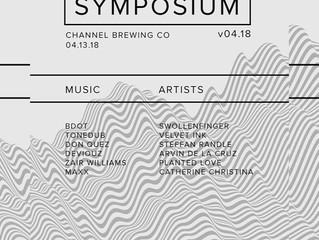 Live: Zair Williams @ Symposium on 04/13
