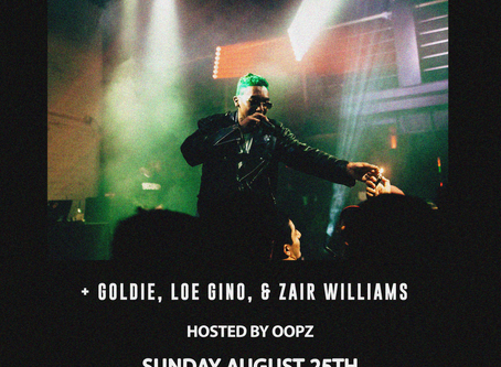 Live: Before The Fame Presents Dave Steezy w/ Goldie, Loe Gino, & Zair Williams