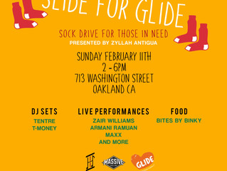 Live: Slide For Glide, Sock Drive For Those In Need