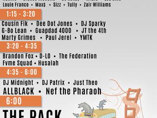 Live: DMP Music Festival (09/23) SET TIMES!