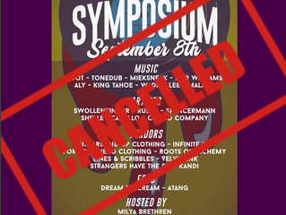 Live: Symposium CANCELLED