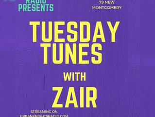 On-Air: Tuesday Tunes With Zair on 03/13