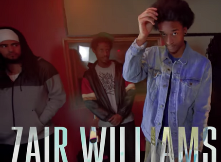 "Release: Zair Williams on ""Live Room Cyphers"""