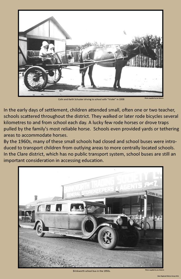 29. School Bus Poster