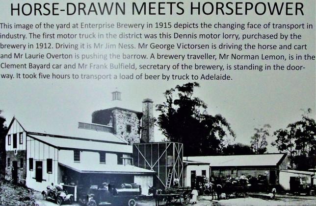 Horse-drawn meets horsepower