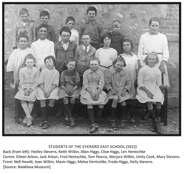 Students of the Everard East School (192