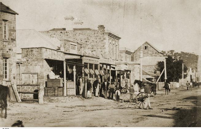 Main Street of Clare, opposite Ford's Ho