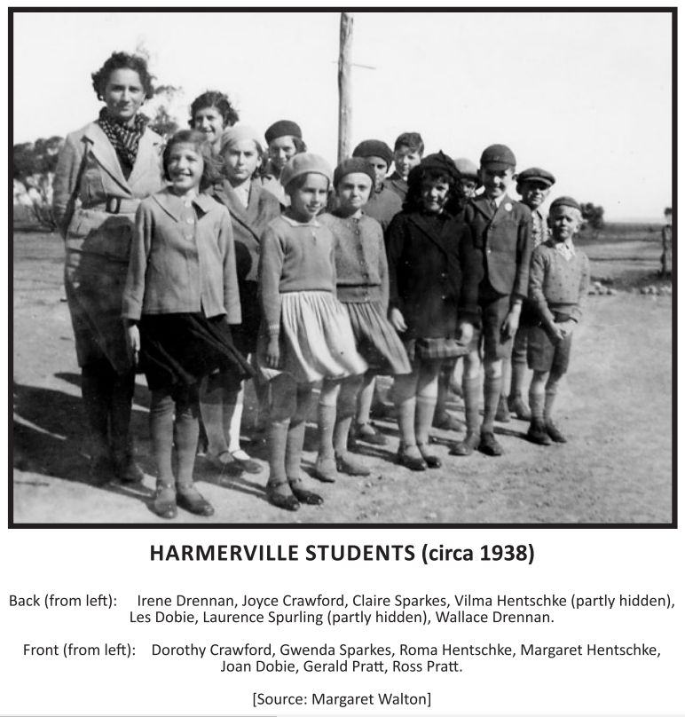 Harmerville Students (c 1938)