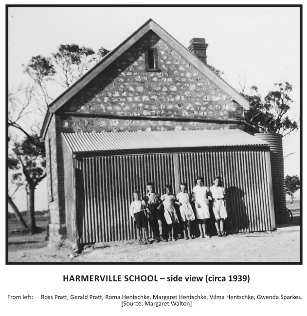 Harmerville School -side view (c 1939)
