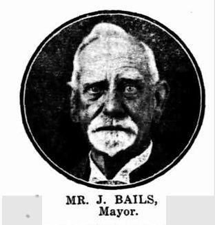 MrJ. Bails, Mayor during Back to Clare 1