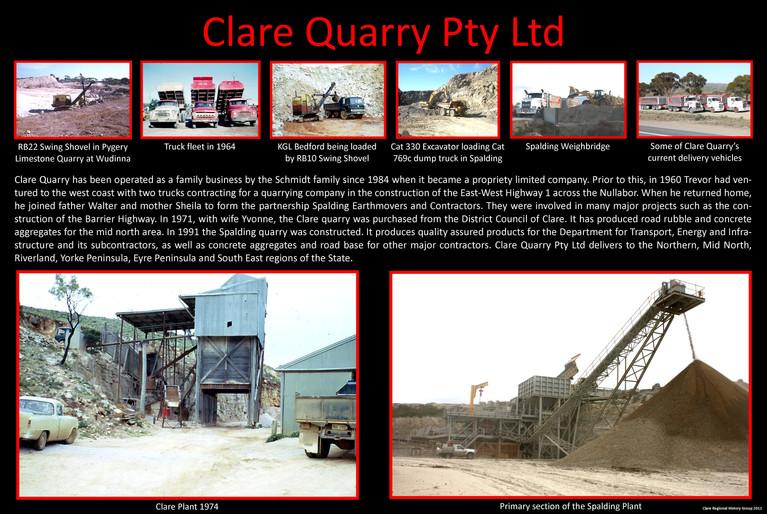 32. Clare Quarry Poster