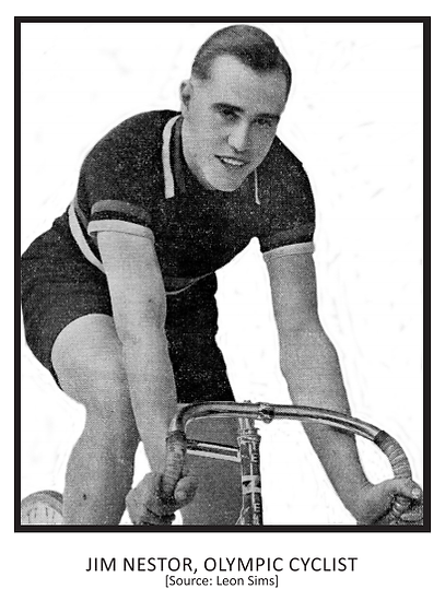 Jim Nestor, Olympic Cyclist.png