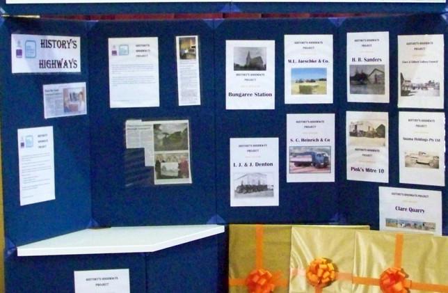 Clare Regional History Display