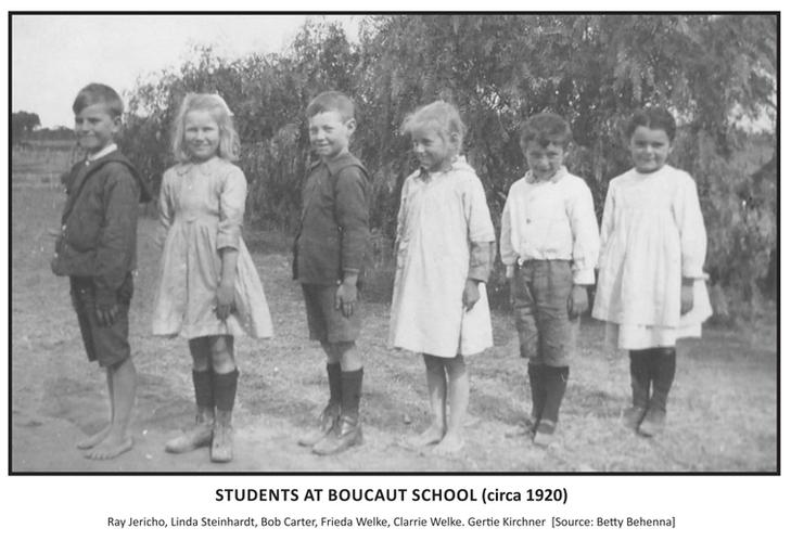 Students at Boucaut School c.1920