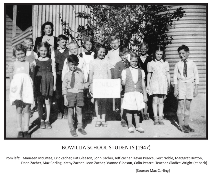 Bowillia School Students (1947).png