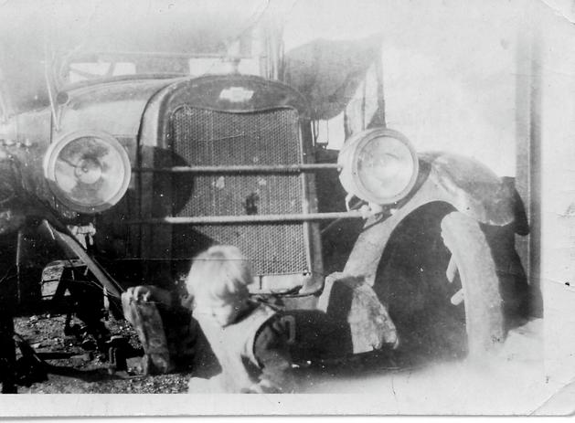1924 Chev - Salter's Car 1949 - At Hart