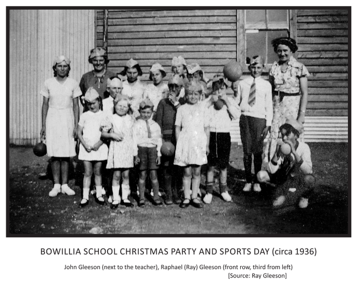 Bowillia School Christmas Party and Spor