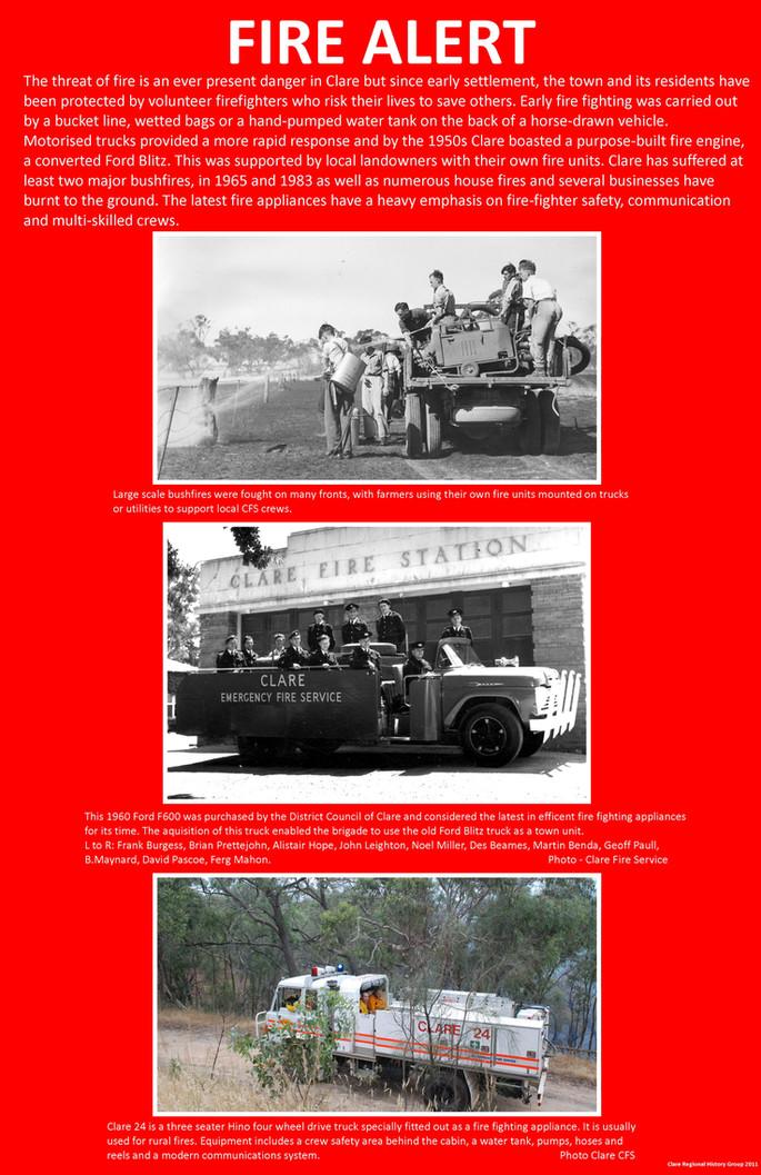 44. Fire Alert Poster
