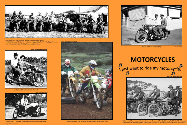 25. Motorcycles Poster