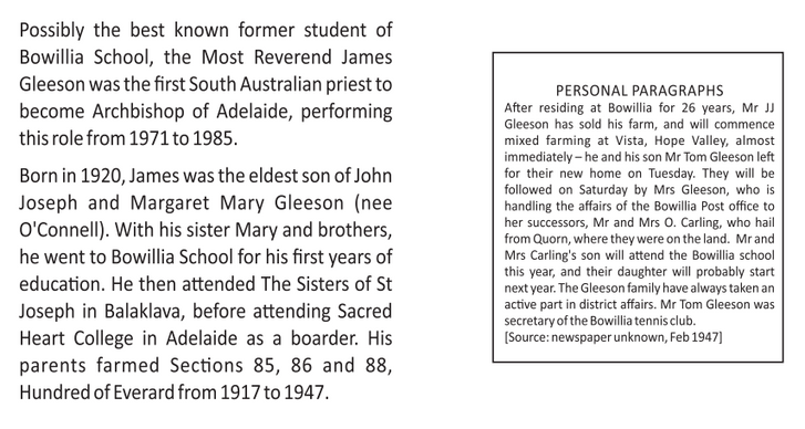 James Gleeson and Personal Paragraphs.pn
