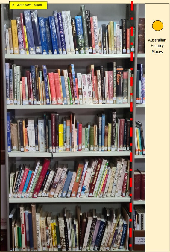 HISTORY COLLECTION DIRECTORY - D - Austr