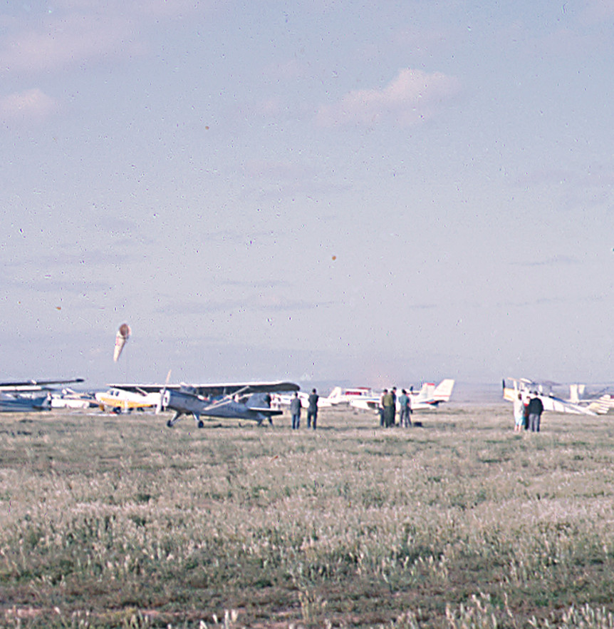 Air Show Off Lochiel Rd, Everard - 1963