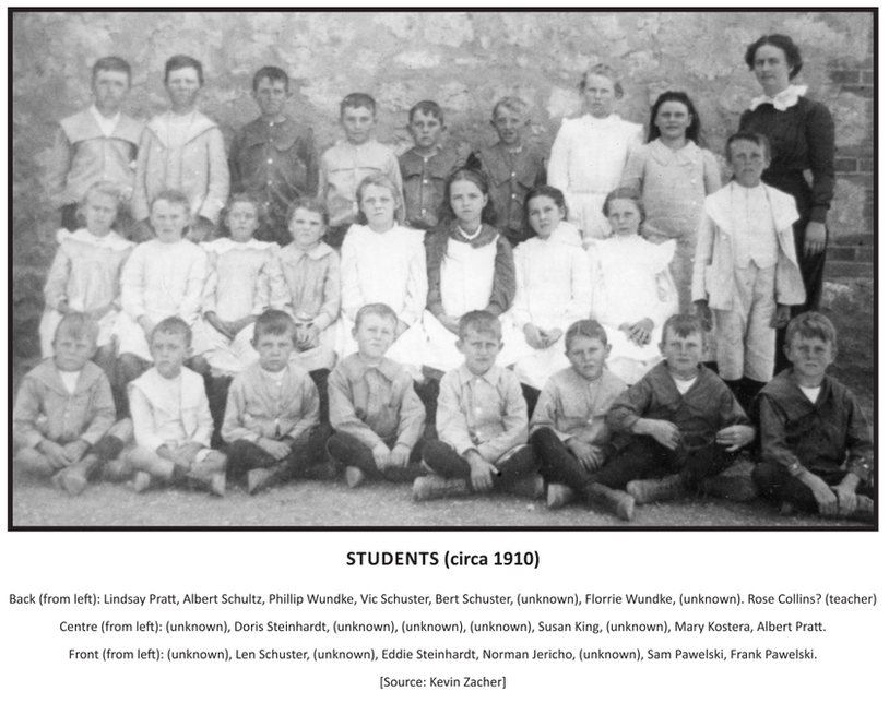 Harmerville Students (c 1910)