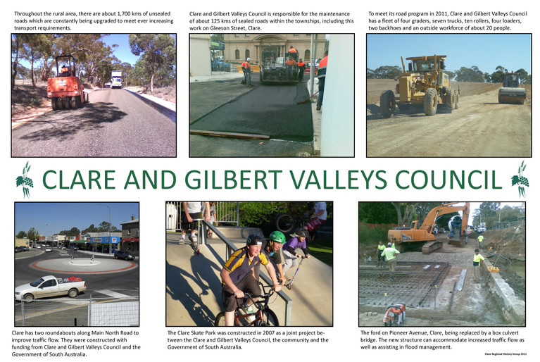 42. Clare and Gilbert Valleys Council Poster