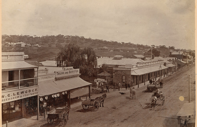 Main street of Clare c 1885.jpeg