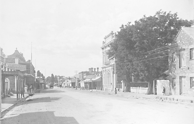The main street of Clare, South Australia 1910