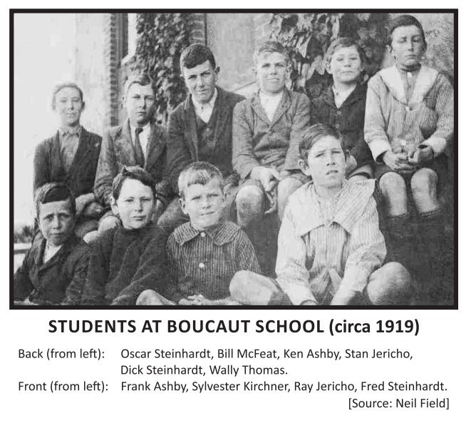 Students at Boucaut School c.1919