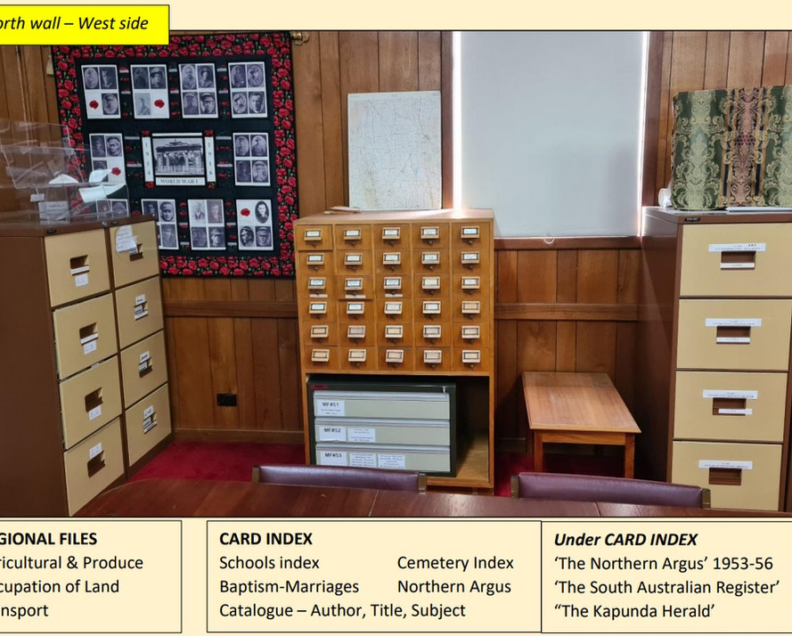 HISTORY COLLECTION DIRECTORY - South-Wes