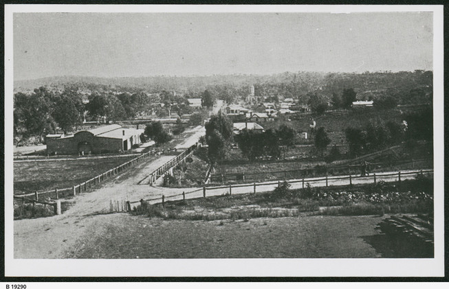 A view from the Railway Station 1918 - 2