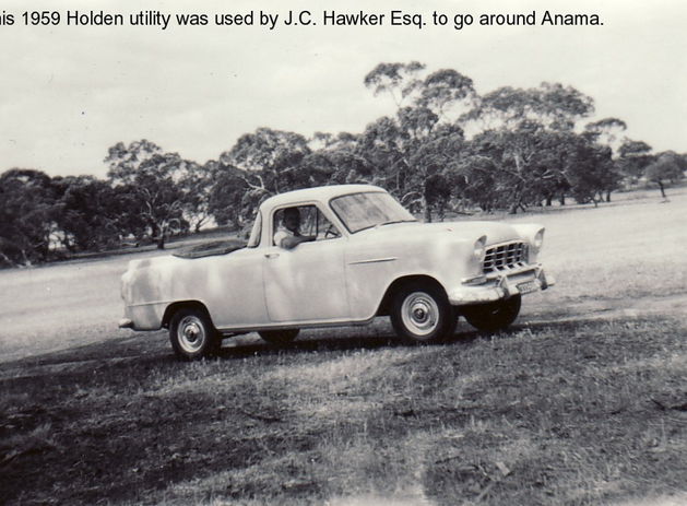 1959 Holden utility on Anama Picture49.p