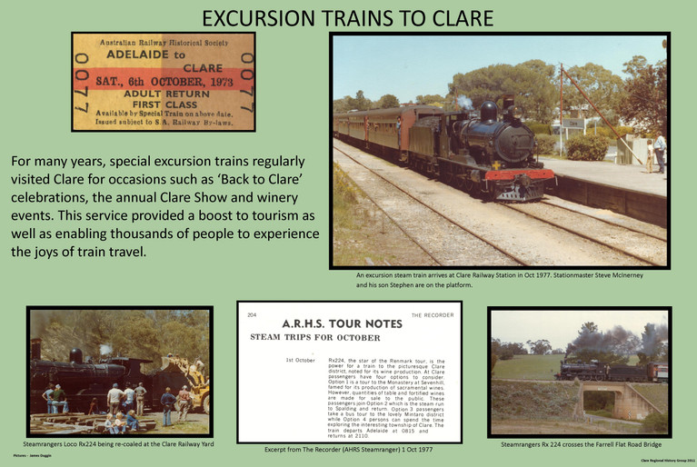 43. Excursion Trains To Clare Poster