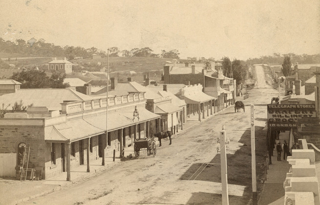 Main Street of Clare, Ford's Hotel on left